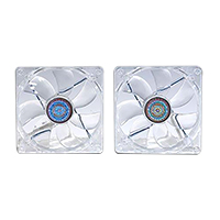Cooler Master 120mm Blue LED Fan - 2-in-1 Value Pack