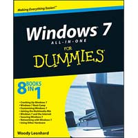 Wiley Windows 7 All-in-One For Dummies
