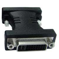 QVS DVI-D Male to Female Dual-Link Adapter