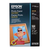 "Epson Photo Paper Glossy 4""x6"" 100 Sheets"