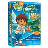 Nova Development Go Diego Go! Great Dinosaur Rescue & Safari Rescue (PC/Mac)