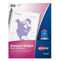 Avery Standard Weight Sheet Protectors 10-Pack