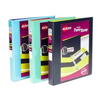 "Avery 1"" Two Tone Durable View Binder"