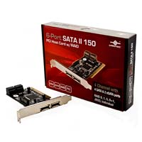 Vantec 6-Port SATA II 150 PCI Host Card w/RAID