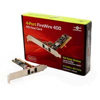 Vantec 4-Port FireWire 400 PCI Host Card