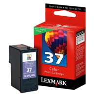 Lexmark 18C2140 #37 Color Return Program Ink Cartridge