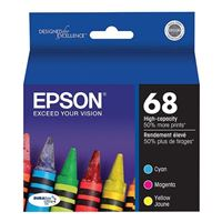 Epson T068520-D2 Color Ink Cartridge Multipack