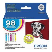 Epson T098920-S Color Ink Cartridge Multipack