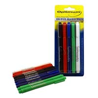 Optimum CD/DVD Safe Marker 10-Pack