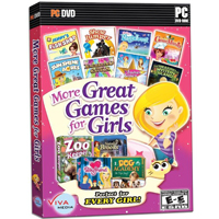 Global Star More Great Games for Girls (PC)