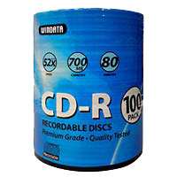CD-R 52x Disc 100-Pack