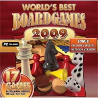 PC Treasures World's Best Board Games 2009 (PC)