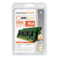 Centon 4GB DDR2-800 (PC2-6400) SO-DIMM Laptop Memory Kit (Two 2GB Apple Memory Modules)