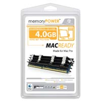 Centon 4GB DDR2-667 (PC2-5300) ECC FBDIMM Memory Kit (Two 2GB Apple Memory Modules)