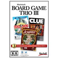Macsoft Board Game Trio 3 (MAC)