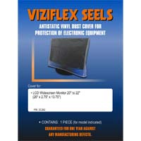Viziflex Seels Dust Cover for LCD Widescreen Monitor 20-22""