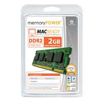 Centon 2GB DDR2-800 (PC-6400) SO-DIMM Laptop Memory Module (Apple Memory)