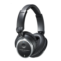 Audio Technica ATH-ANC7B QuietPoint Active Noise-Canceling Over Ear Headphones