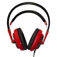 SteelSeries Siberia v2 Full Size Headset Red