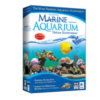 Nova Development Marine Aquarium Deluxe 3.0 Screensaver (PC/Mac)