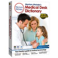 JC Research Merriam-Webster's Medical Desk Dictionary v.4 (PC/Mac)
