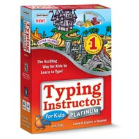 Individual Software Typing Instructor for Kids Platinum (PC/Mac)