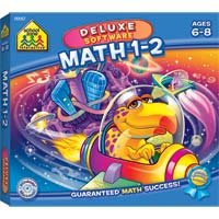School Zone Publishing Math 1-2 (PC/Mac)