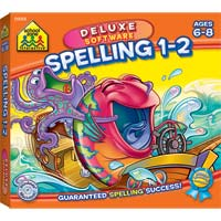School Zone Publishing Spelling 1-2 (PC/Mac)