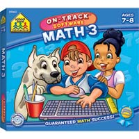 School Zone Publishing School Zone 3 Math Software (PC/Mac)