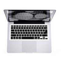 iSkin Inc iSkin ProTouch FX Keyboard Protector with Microban for MacBook, MacBook Pro and MacBook Air - Black (Thrill)