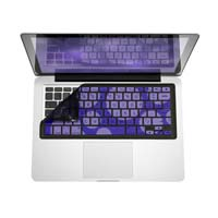 iSkin Inc iSkin ProTouch Vibes Keyboard Protector with Microban for MacBook, MacBook Pro and MacBook Air. (Dark Purple/Light Purple) - Star Gaze