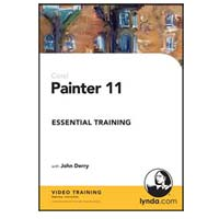 SOS Network Lynda.com Painter 11 Essential Training (PC/Mac)