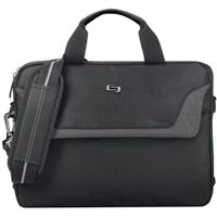 "SOLO Sterling Laptop Carrying Case Fits Screens up to 14.1"" - Black"