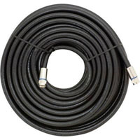 GE RG6 Coax Cable 50 ft. Black