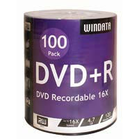 Windata DVD+R 100 Pack