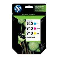 HP HP 940 Color Ink Cartridge Combo Pack