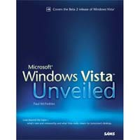 Sams WINDOWS VISTA UNVEILED