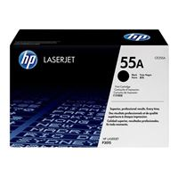 HP CE255A LaserJet Black Toner Cartridge