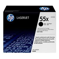 HP CE255X LaserJet Black High Yield Toner Cartridge