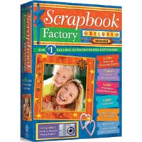 Nova Development Scrapbook Factory Deluxe 5.0 (Windows)