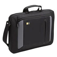 "Case Logic Laptop Attache Fits Screens up to 16"" - Black"