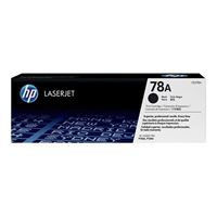 HP CE278A LaserJet Black Toner Cartridge with Smart Printing Technology