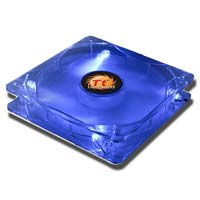 Thermaltake Thunderblade 120mm Ultra Quiet Blue LED Case Fan