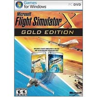 Microsoft Flight Simulator X Gold (PC)