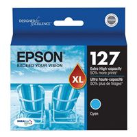 Epson T127220 Extra High-Capacity Cyan Ink Cartridge