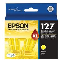 Epson T127420 Extra High-Capacity Yellow Ink Cartridge