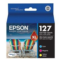 Epson T127520-S Extra High Capacity Color Inkjet Cartridge Multi-Pack