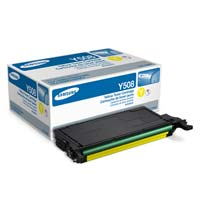 Samsung CLT-Y508S Yellow Laser Toner Cartridge