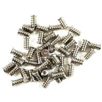 OK Gear Silver Fan Screw - 8 Pack
