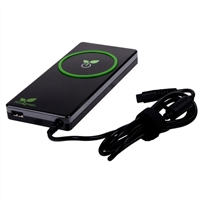 iGo 90 Watt AC Notebook Charger with Green Technology, USB (2.1A) Charging Port and 8 Power Tips